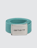 Carhartt Work In Progress Chrome Clip Belt Picture