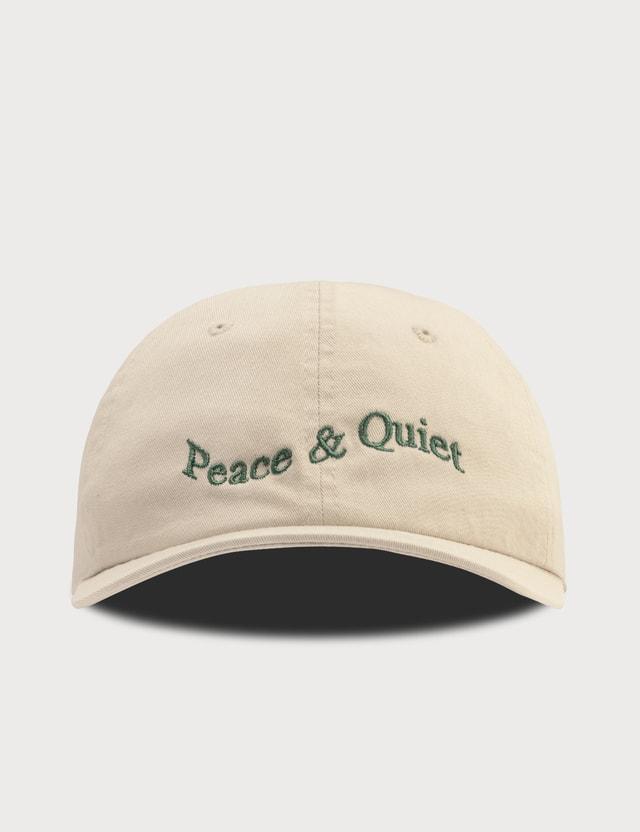 Peace & Quiet Warped Wordmark Cap