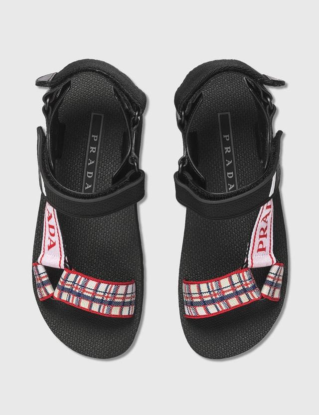 Prada Sport Knit Sandals