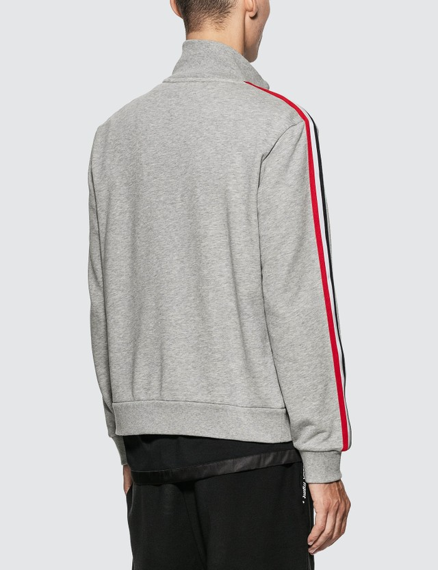 Moncler Cotton Track Jacket Brown Men