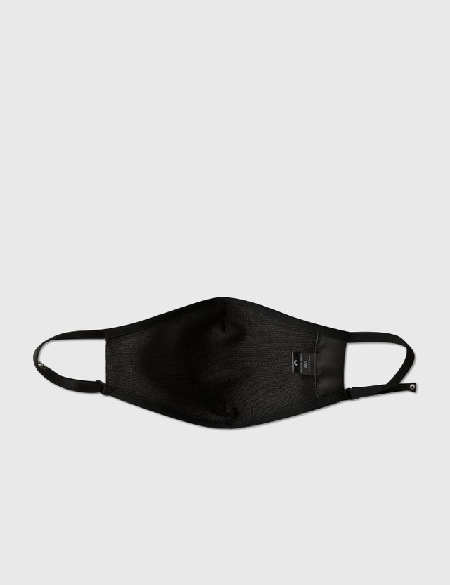 Marine Serre Daily Mask Lozenge 00 Black On Tan Lozenge Women