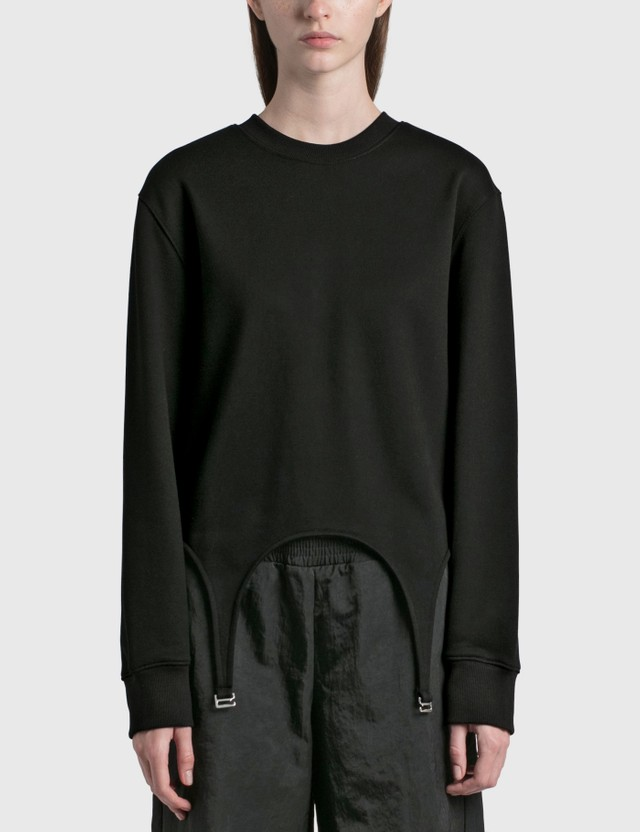 Dion Lee Garter Pullover Black Women
