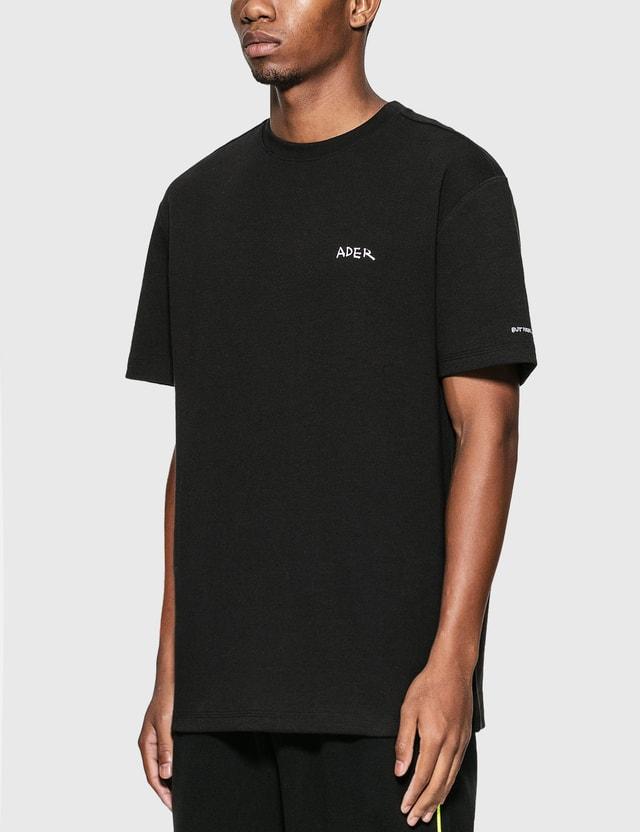 Ader Error Handwriting Logo T-Shirt Black Men