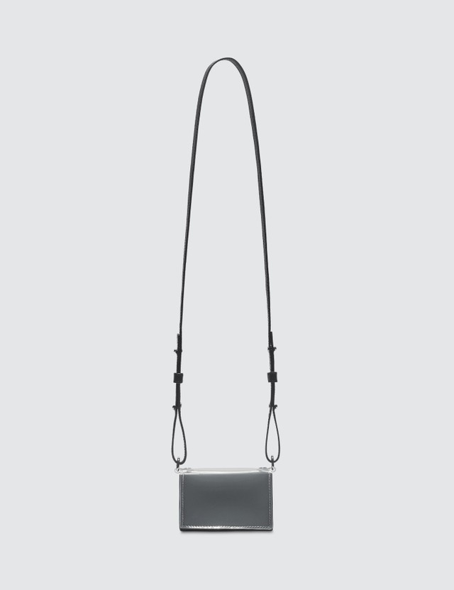 Nana-nana Leather x PVC B8 Bag Black Women