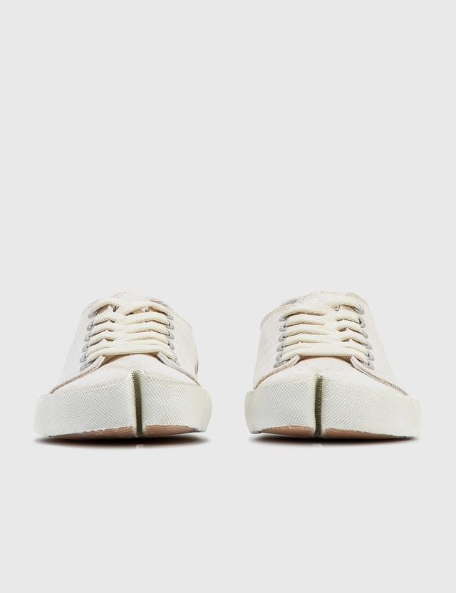 Maison Margiela Tabi Bianchetto Sneaker White Sand/white Women