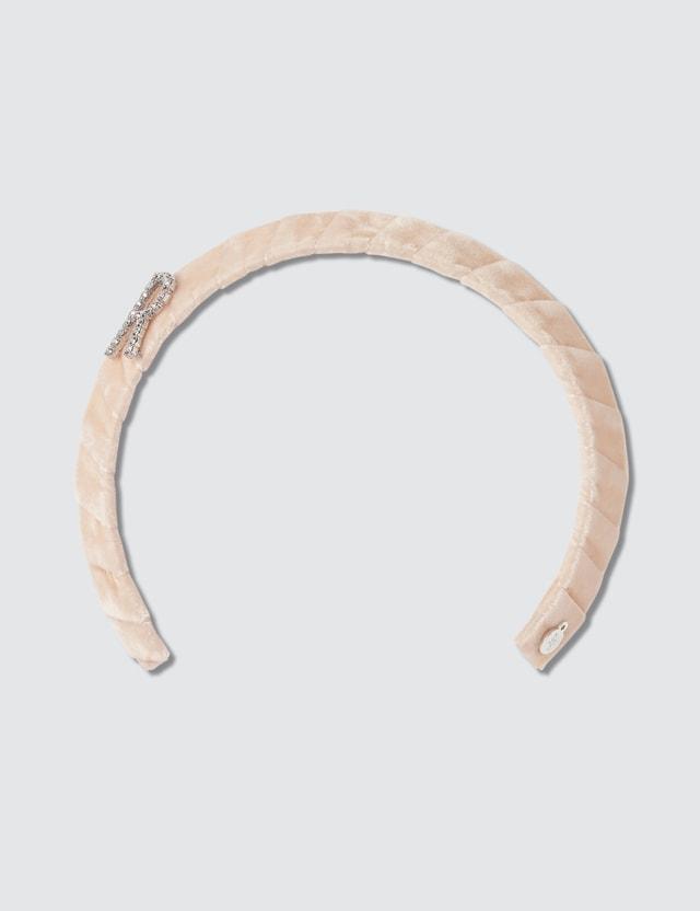 Lelet NY Monogram Crystal Headband