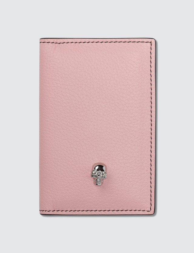 Alexander McQueen Skull Leather Pocket Organizer