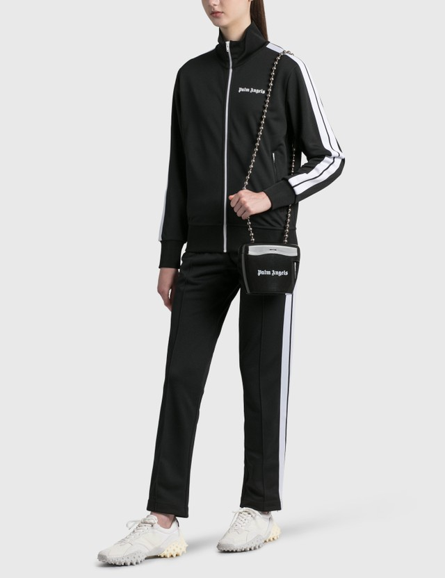 Palm Angels Classic Track Jacket Black Women