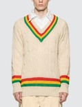 Rowing Blazers Rasta Cricket Sweater