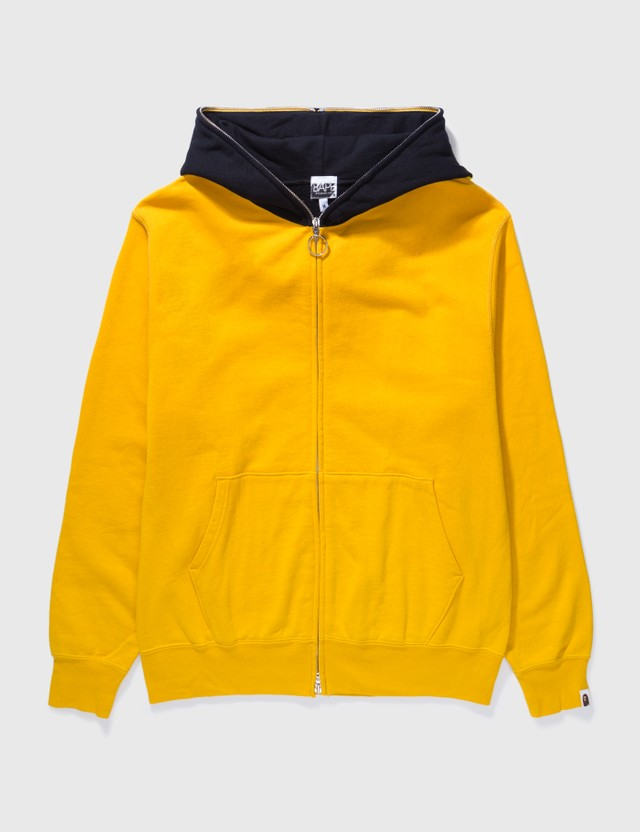 BAPE Bape 2 Tones Fishing Ape Zip Up Yellow Archives