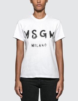 MSGM Blush Logo T-shirt