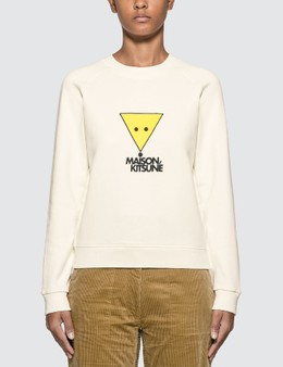 Maison Kitsune Smiley Fox Sweatshirt
