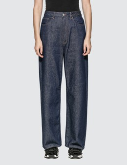 MM6 Maison Margiela Wide Leg Denim Jeans