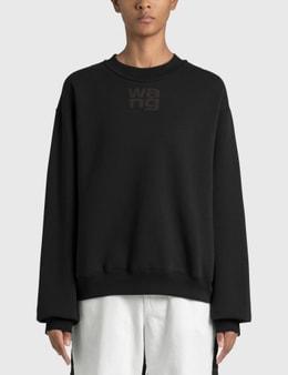 Alexander Wang.T Heavy Brushed Terry Sweatshirt