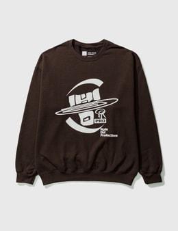 Yen Town Market Hydeout Dimension Ball Crewneck Sweatshirt
