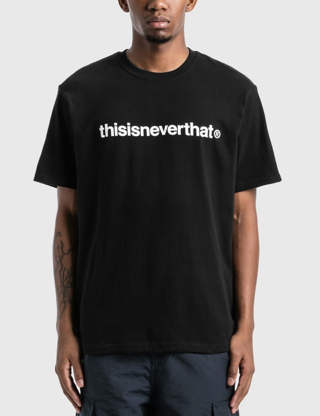 Thisisneverthat thisisneverthat T-logo T-Shirt Black Men
