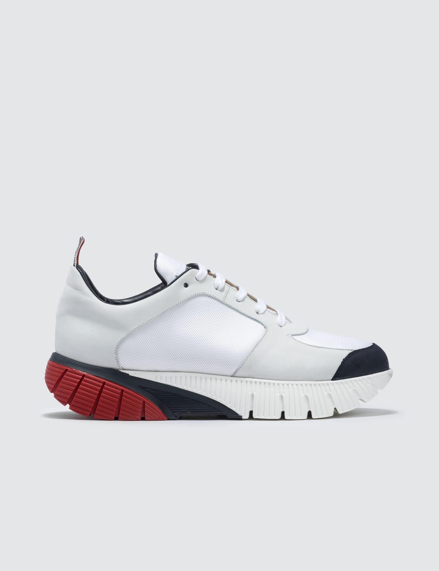 Thom Browne - Raised Running Shoe   HBX