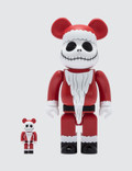 Medicom Toy Santa Jack Skellington Be@rbrick 100% + 400% Set Picutre
