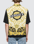Versace Feather Print S/S Shirt Picutre