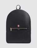 Thom Browne Pebble Grain Leather Backpack Picture