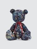 "Medicom Toy Teddy Bear ""Jackson Pollock Studio"" Picture"