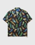 Awake NY Feathers Silk Shirt Picutre
