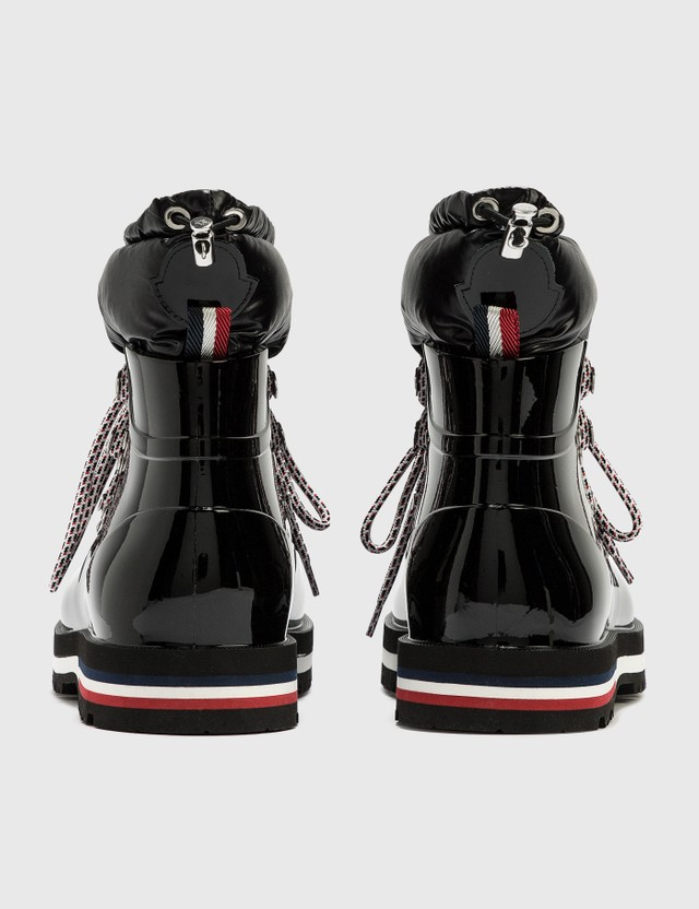 Moncler Puffer Winter Boots Black Women