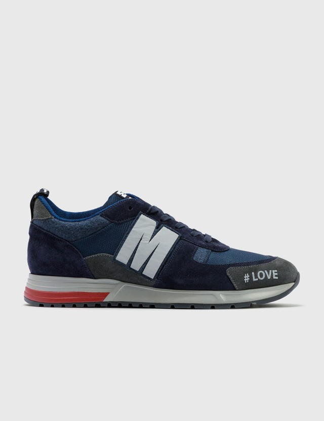 MSGM Msgm Sneakers Navy Archives