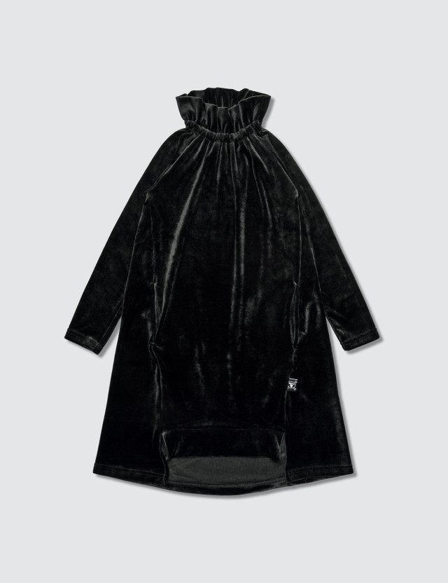 NUNUNU Velvet Dress