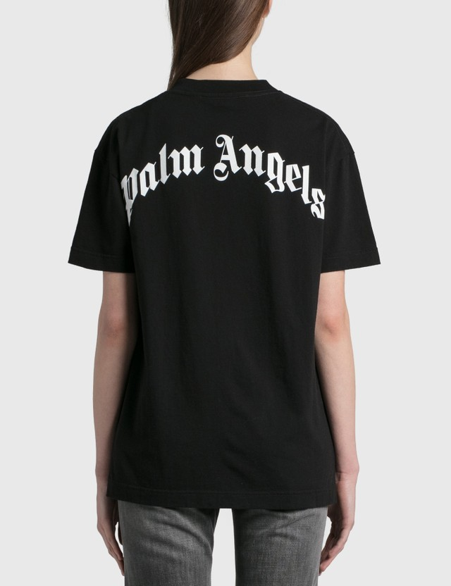 Palm Angels Palm Angels Bear T-Shirt Black Brown Women