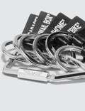 Off-White Label Keychain