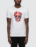 Alexander McQueen Painted Palette Skull Print S/S T-Shirt Picutre