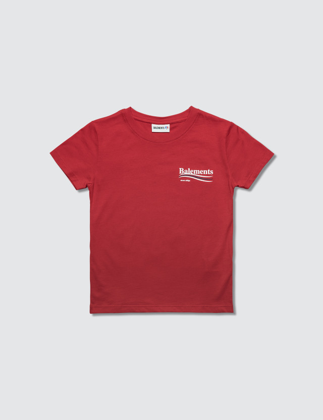 Balements Maglia Jersey S/S T-Shirt Red Kids