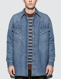 Maison Margiela Vintage Denim Oversized Padded Overshirt Picture