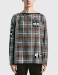 Raf Simons Printed Patches Big Fit Punk Shirt Picutre