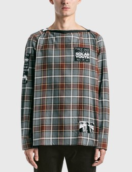 Raf Simons Printed Patches Big Fit Punk Shirt