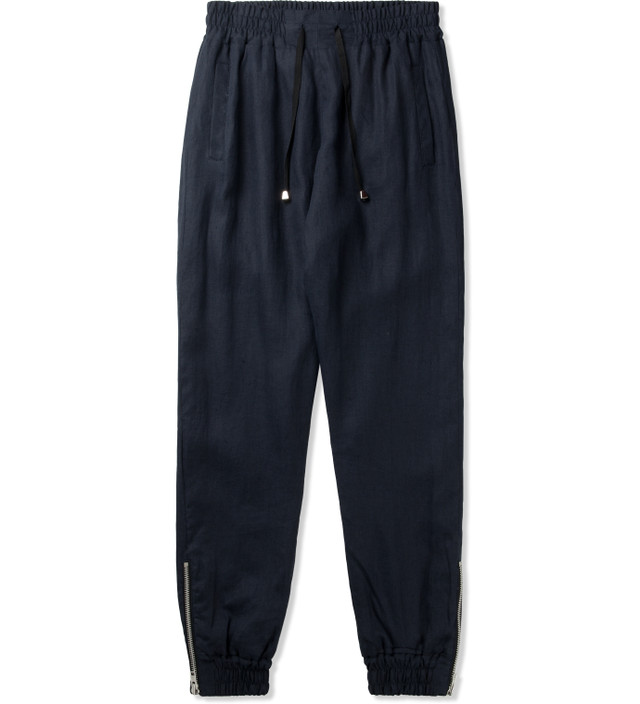 clothsurgeon Navy Linen Cuff Sweatpants