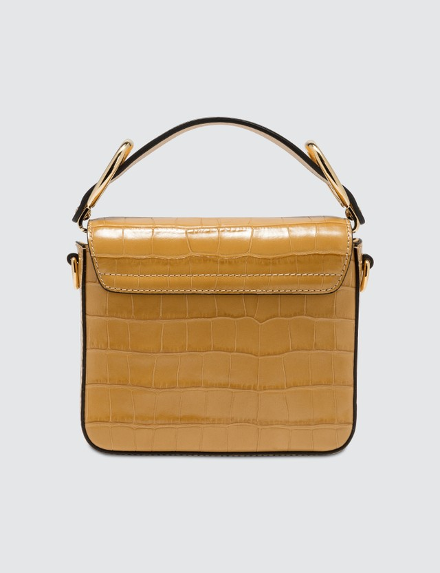 Chloé Mini Chloé C Bag Honey Gold Women