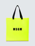 MSGM Macro Logo Shopping Bag Picture