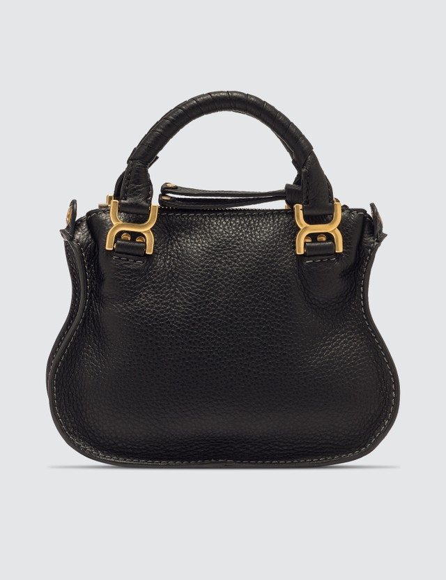 Chloé Mini Marcie Handbag Black Women
