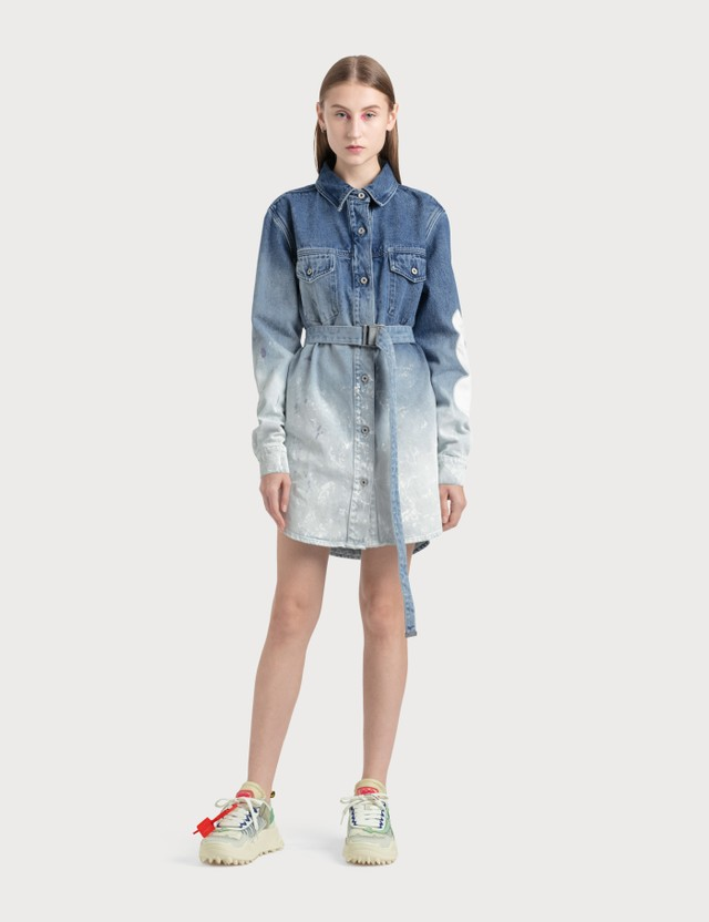 Off-White Denim Dress =e120 Women