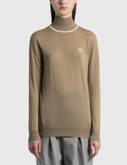 Loewe Anagram Embroidered Cashmere Sweater