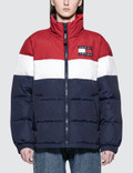 Tommy Jeans 90S Rwb Puffa Jacket Picture