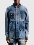 FDMTL 3 Years Wash Patchwork Coverall Jacket Picture