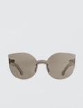 Super By Retrosuperfuture Tuttolente Lucia Ivory Sunglasses Picutre