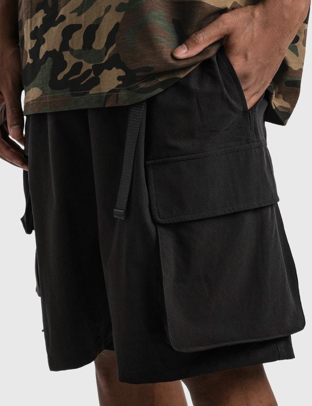 Grocery SP-005 Multi Pocket Shorts Black Men