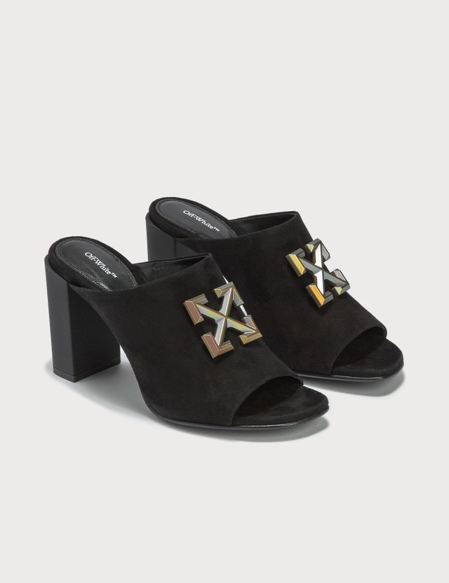 Off-White Suede Arrows Sabot =e61 Women