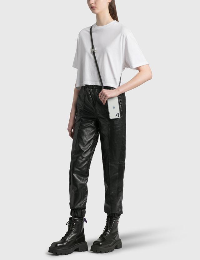 1017 ALYX 9SM Cropped T-Shirt White Women