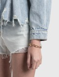Young Frankk Classic Chain Bracelet Gold Plated Women