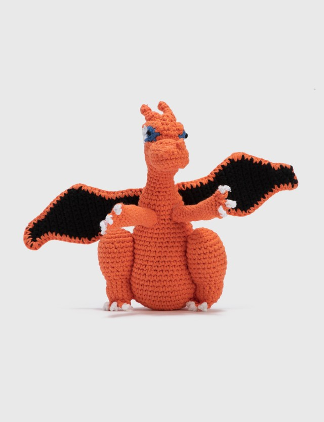 Ware of the Dog Hand Crochet Dragon Orange Life
